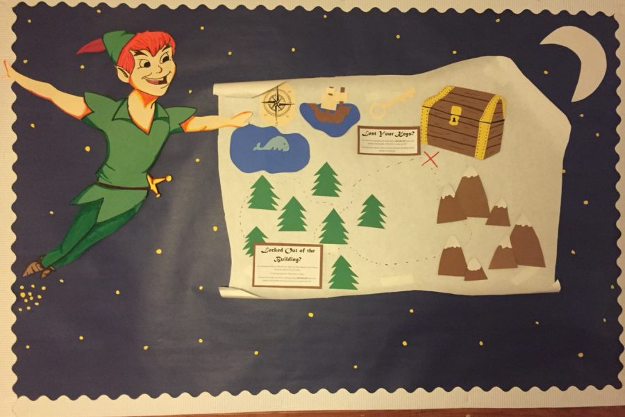Peter Pan bulletin board