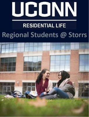 Icon for students attending regional campuses but living on Storrs campus