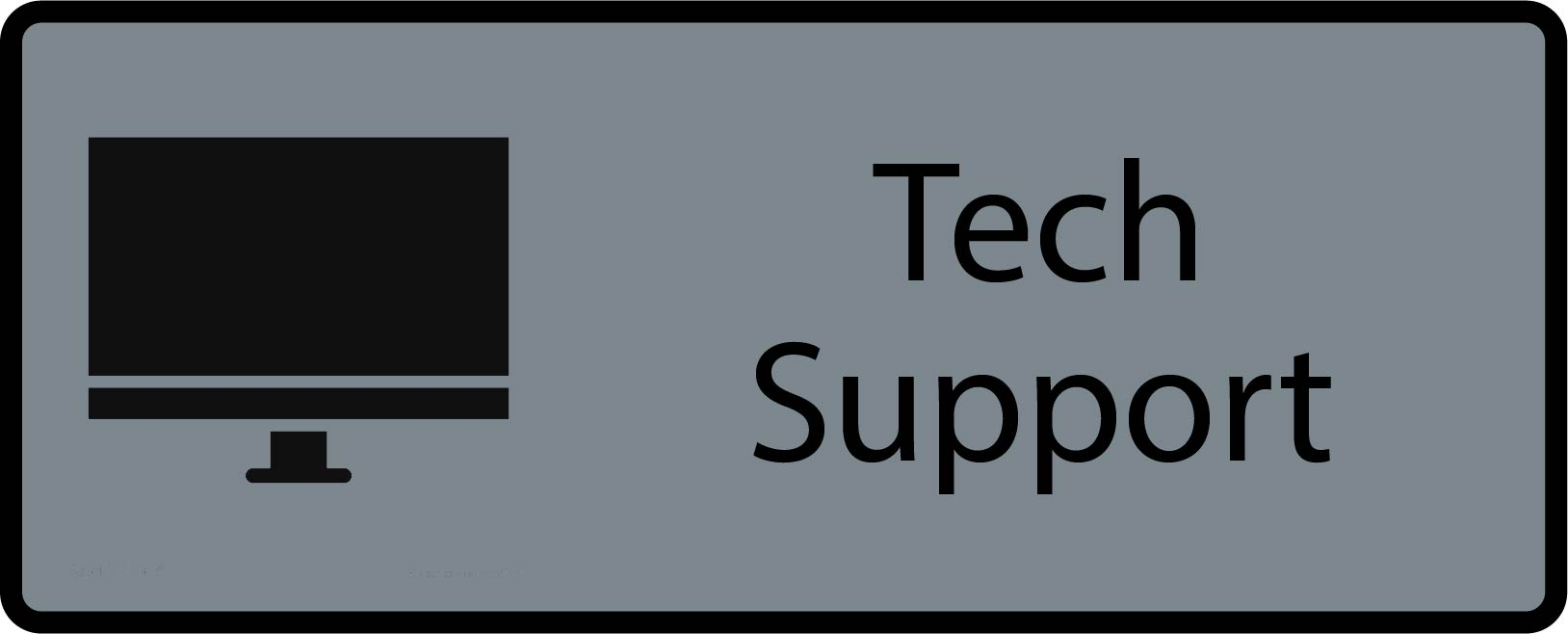 Tech Support is available at https://techsupport.uconn.edu
