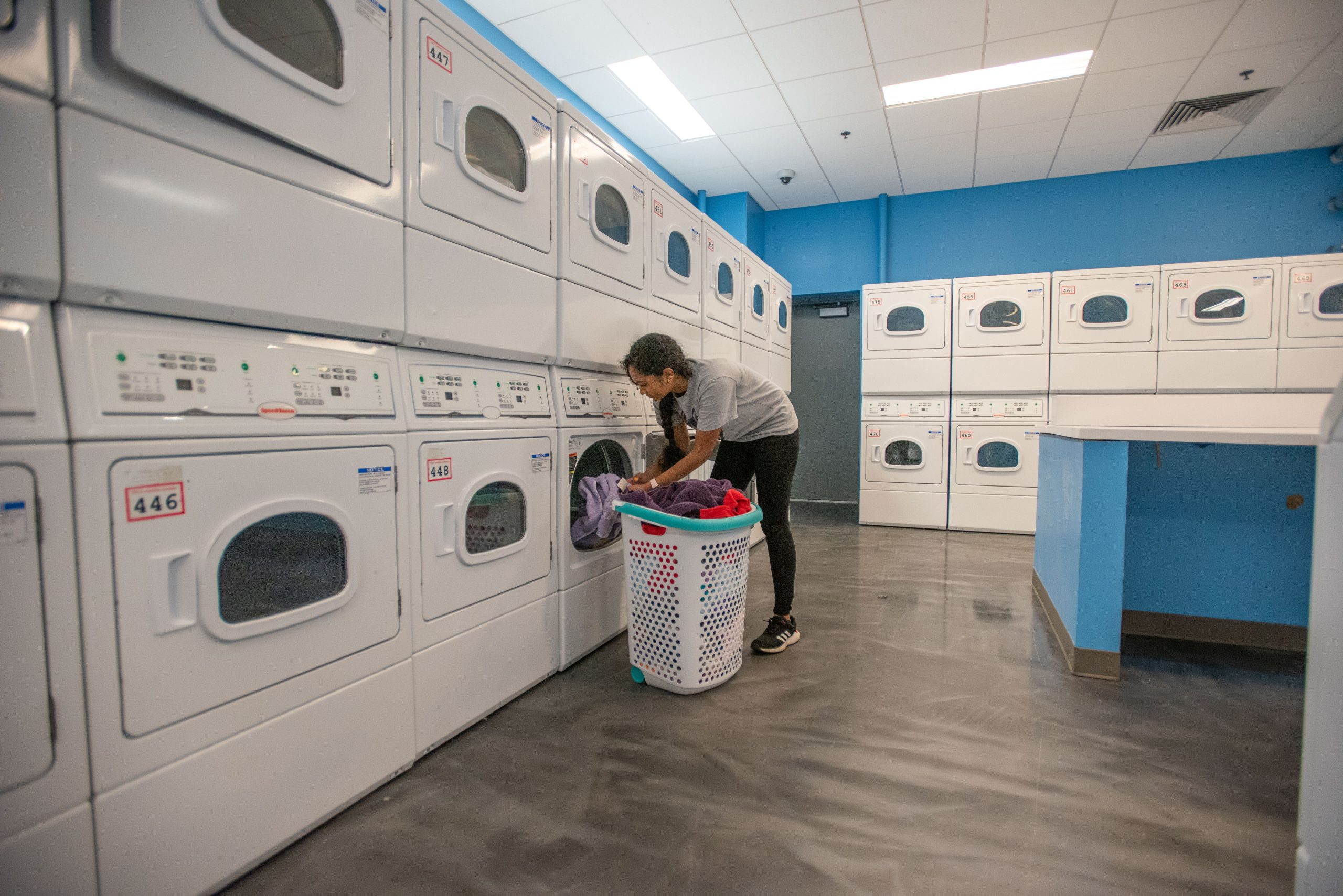Werth Tower Laundry Room